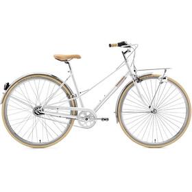 Creme Caferacer Solo - Bicicleta urbana mujer - blanco